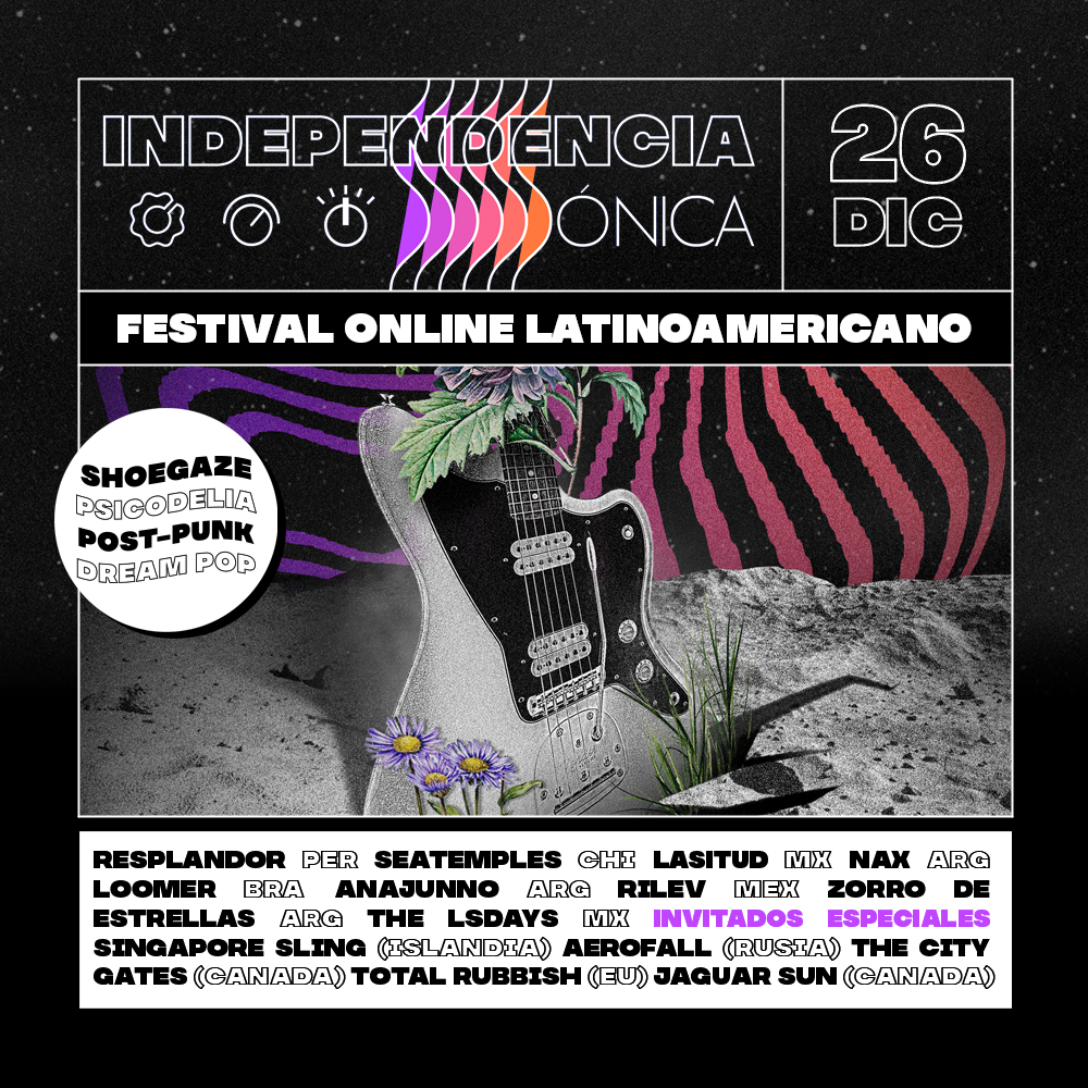 O festival Independência Sónica acontece online a 26 de dezembro